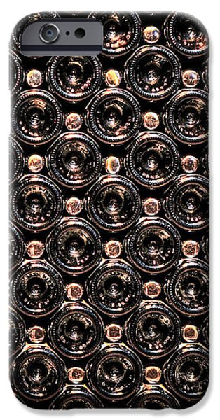 Wine bottles iPhone Case by Elena Elisseeva