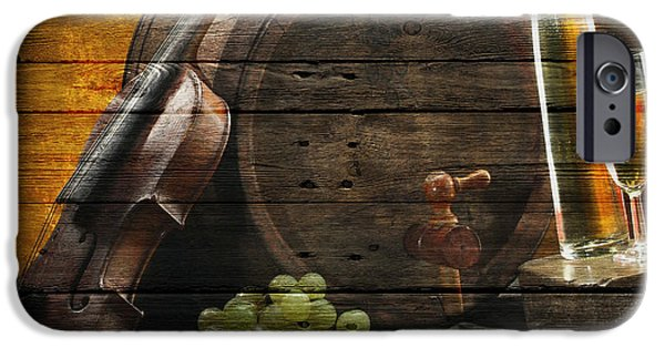 Red Wine iPhone Cases - Wine iPhone Case by Joe Hamilton