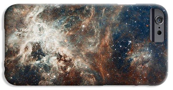 Nebula Photograph iPhone Cases - 30 Doradus iPhone Case by Eric Glaser