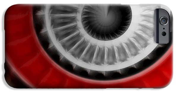 Concept Art iPhone Cases - Abstract  iPhone Case by Dan Radi