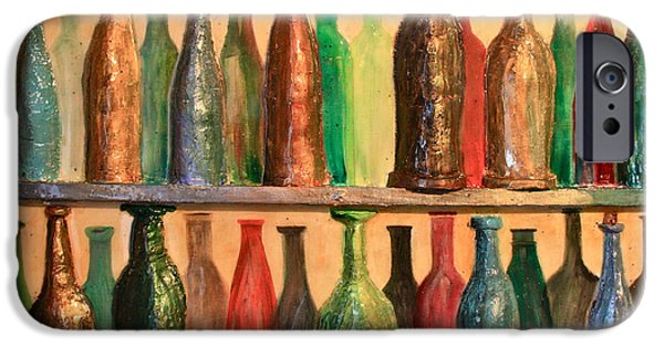 Winetasting iPhone Cases - 31 Bottles iPhone Case by Mark Prescott Crannell