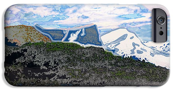 Planet Fantastic iPhone Cases - Norway  Landscape iPhone Case by Augusta Stylianou
