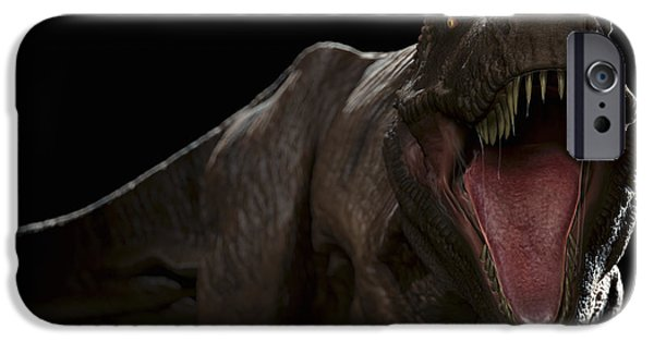 T Rex iPhone Cases - Dinosaur Tyrannosaurus iPhone Case by Science Picture Co