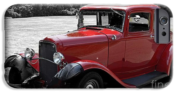Lincoln iPhone Cases - 32 Ford Coupe Charmer iPhone Case by Luther   Fine Art
