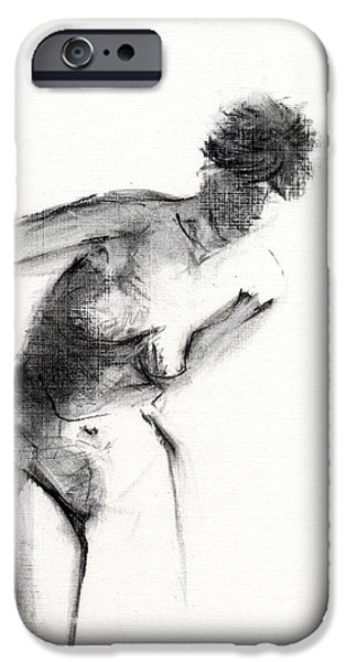 Nude iPhone Cases - RCNpaintings.com iPhone Case by Chris N Rohrbach