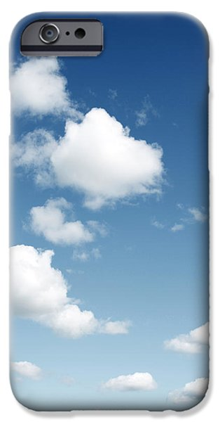 Climate iPhone Cases - Clouds iPhone Case by Les Cunliffe