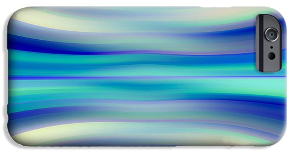 Concept Digital Art iPhone Cases - Abstract  iPhone Case by Dan Radi