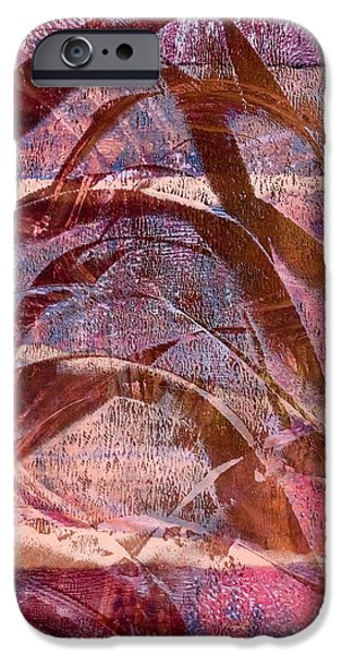 Pen And Ink iPhone Cases - Abstract Arch iPhone Case by Laura L Leatherwood