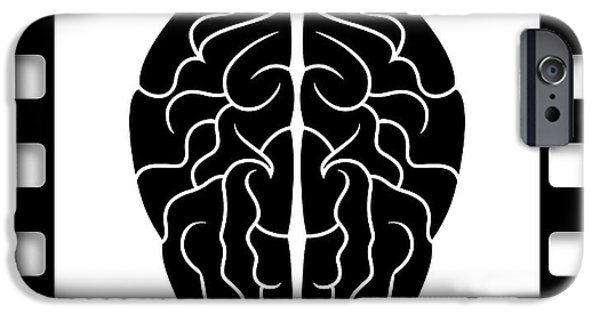 Neurosurgeon iPhone Cases - 35mm Brain iPhone Case by Daniel Hagerman