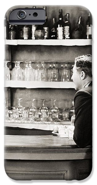 SILENT FILM STILL: DRINKING iPhone Case by Granger