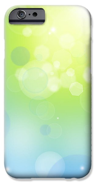 Unknown iPhone Cases - Abstract background iPhone Case by Les Cunliffe