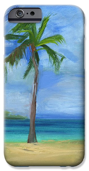 Bay Head Beach iPhone Cases - RCNpaintings.com iPhone Case by Chris N Rohrbach