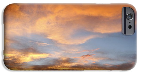 Nature Abstract iPhone Cases - Bright sky  iPhone Case by Les Cunliffe