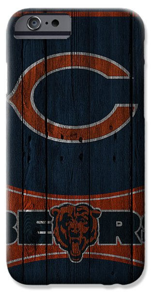 Bears iPhone Cases - Chicago Bears iPhone Case by Joe Hamilton