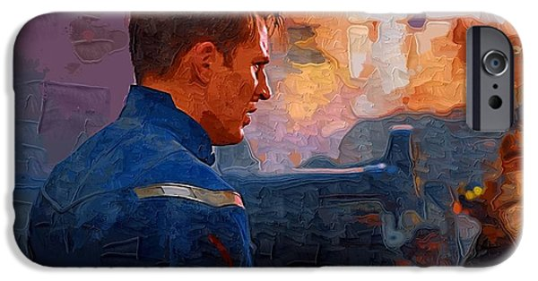 Fury iPhone Cases - The Avengers iPhone Case by Victor Gladkiy