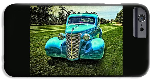 Automotive iPhone Cases - 38 Chevrolet Classic Automobile iPhone Case by Thom Zehrfeld