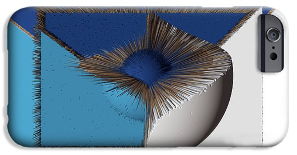 3d Abstract 19 iPhone Case by Angelina Vick