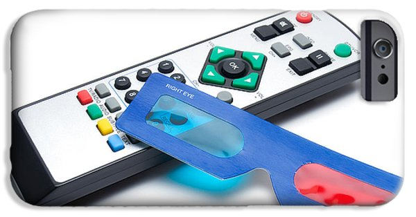 Multimedia iPhone Cases - 3d Tv iPhone Case by Sinisa Botas
