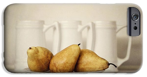 Pears iPhone Cases - 3x3 iPhone Case by Diana Kraleva