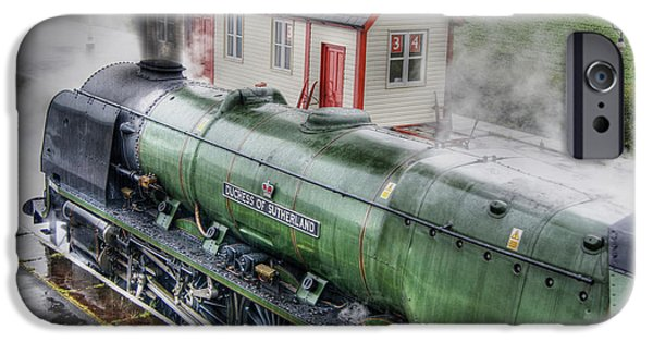 Duchess iPhone Cases - 46233 Duchess Of Sutherland iPhone Case by David Birchall