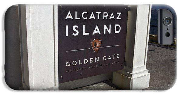 United States iPhone Cases - Alcatraz Island iPhone Case by Jason O Watson