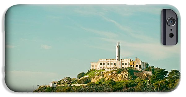 Alcatraz iPhone Cases - Alcatraz Island iPhone Case by Mountain Dreams