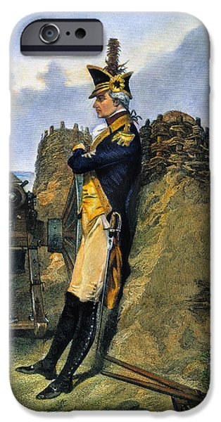 Recently Sold -  - Yorktown iPhone Cases - Alexander Hamilton iPhone Case by Granger
