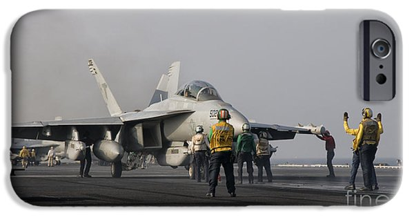 Electronic iPhone Cases - An Ea-18g Growler Is Guided iPhone Case by Giovanni Colla
