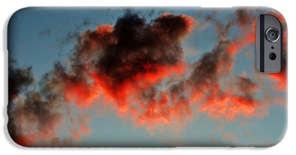 Town iPhone Cases - Art in the sky iPhone Case by Werner Lehmann