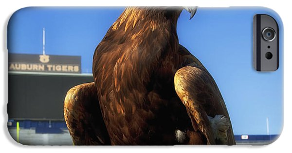 Auburn iPhone Cases - Auburn War Eagle iPhone Case by Mountain Dreams