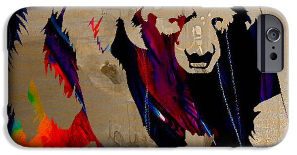 Polar Bear iPhone Cases - Bear iPhone Case by Marvin Blaine