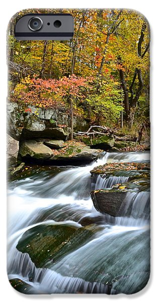 Berea Falls iPhone Case by Frozen in Time Fine Art Photography