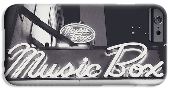 Music Box iPhone Cases - Broadway iPhone Case by Natasha Marco