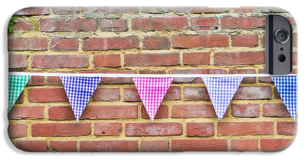 Bunting iPhone Cases - Bunting iPhone Case by Tom Gowanlock