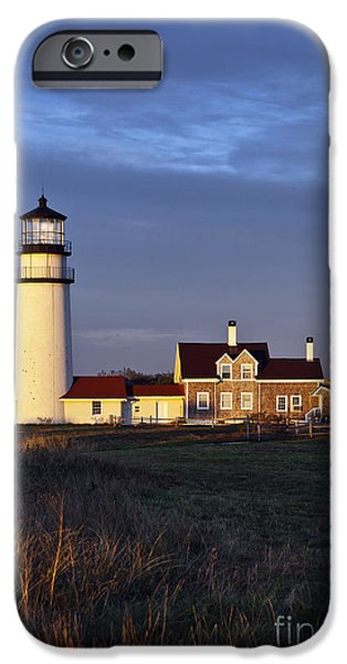 Cape Cod Lighthouse iPhone Cases - Cape Cod Light iPhone Case by John Greim