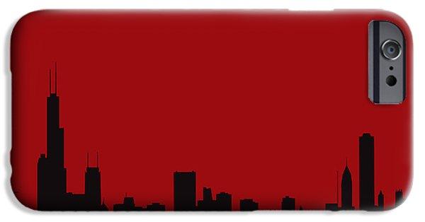 Chicago Bulls iPhone Cases - Chicago Bulls iPhone Case by Joe Hamilton