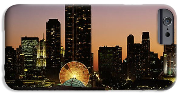 Lake Shore Drive iPhone Cases - Chicago, Illinois, Usa iPhone Case by Panoramic Images