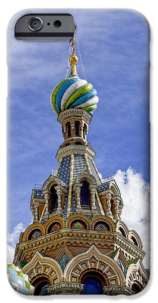 The Resurrection Of Christ iPhone Cases - Church of the Spilled Blood - St. Petersburg Russia iPhone Case by Jon Berghoff