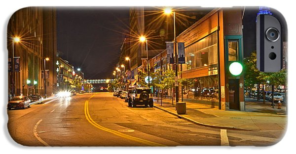Stellar iPhone Cases - Cleveland Ohio iPhone Case by Frozen in Time Fine Art Photography