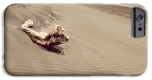 Beach Landscape iPhone Cases - Coastline iPhone Case by Les Cunliffe