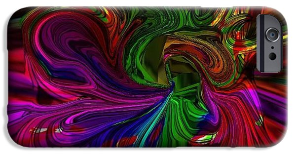 Etc. Digital Art iPhone Cases - Colors iPhone Case by HollyWood Creation By linda zanini