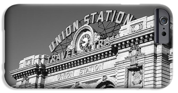 Best Sellers -  - Business Photographs iPhone Cases - Denver - Union Station iPhone Case by Frank Romeo
