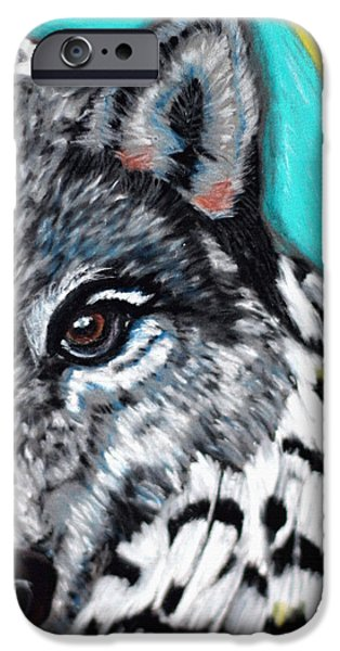 Dogs iPhone Cases - 4 Directions 4 iPhone Case by Angela Pari  Dominic Chumroo