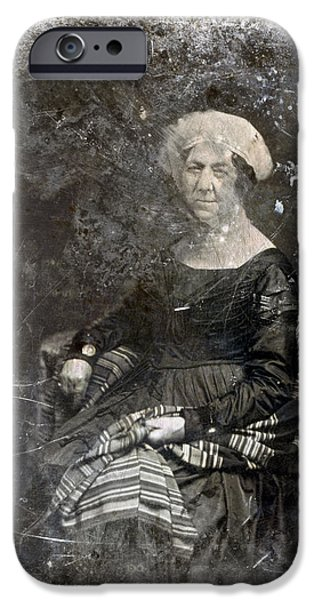 First Lady iPhone Cases - Dolley Madison (1768-1849) iPhone Case by Granger