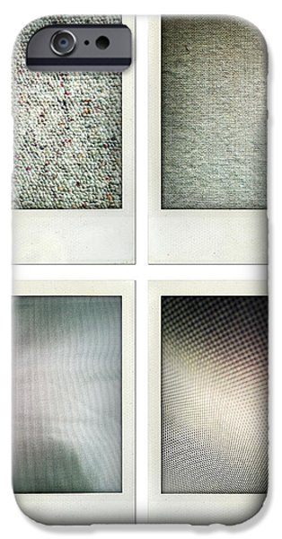 Fabrics iPhone Case by Les Cunliffe