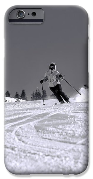 Mountains iPhone Cases - First Run iPhone Case by Sebastian Musial