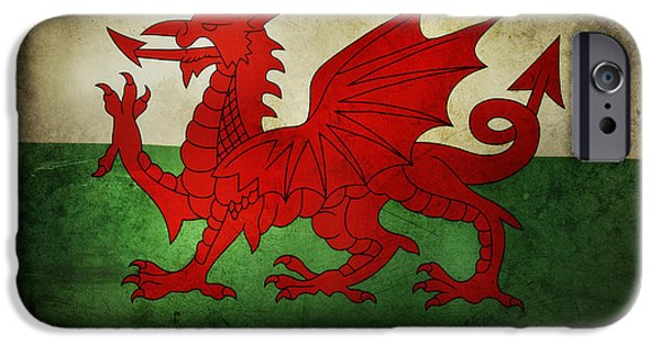 Flag iPhone Cases - Flag iPhone Case by Les Cunliffe