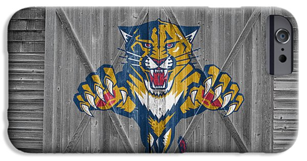 Panther iPhone Cases - Florida Panthers iPhone Case by Joe Hamilton