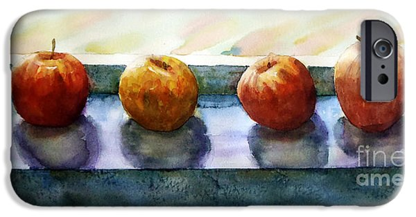 """indoor"" Still Life Paintings iPhone Cases - 4 Friends iPhone Case by Marisa Gabetta"
