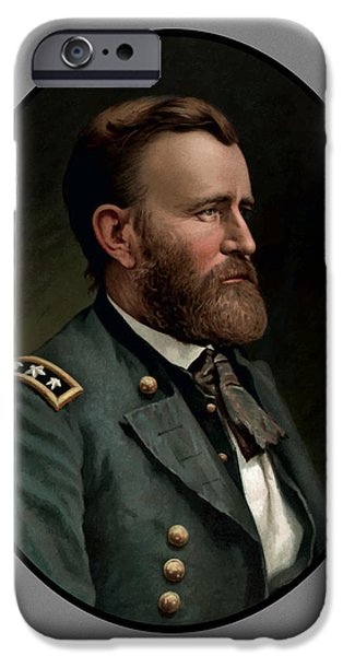 General Grant iPhone Case by War Is Hell Store